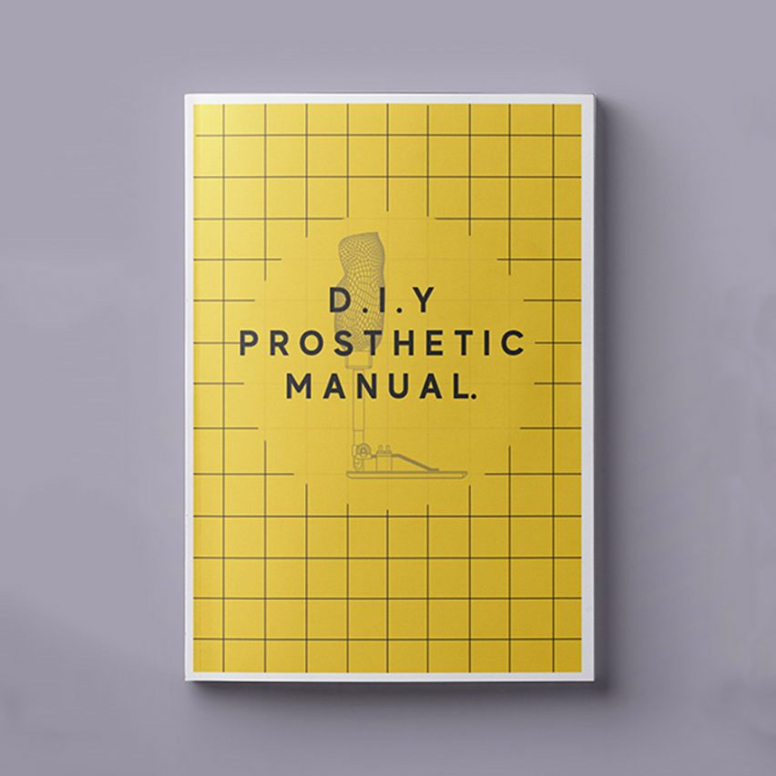 Desiree Riny has created a manual for people to make DIY prosthetics