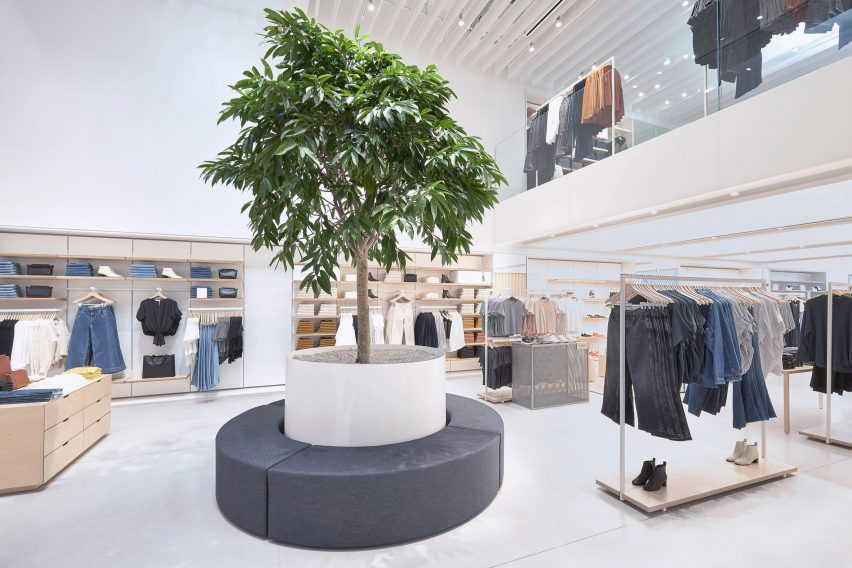 Everlane Williamsburg store in Brooklyn
