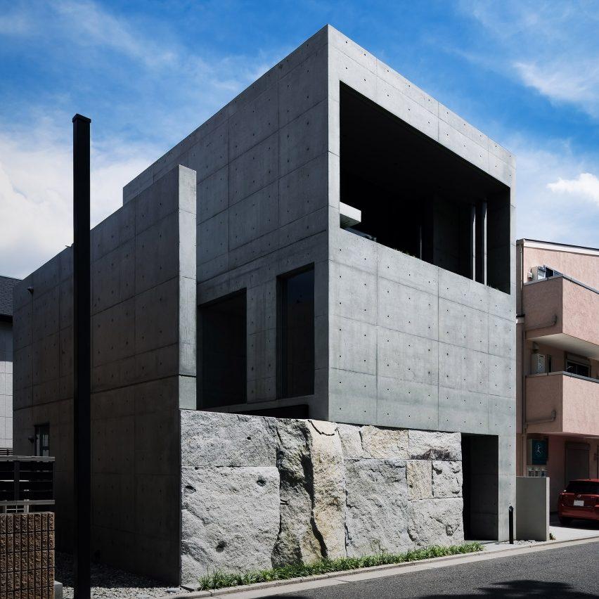 Gosize designs its own home studio in Japan around a minimalist pond