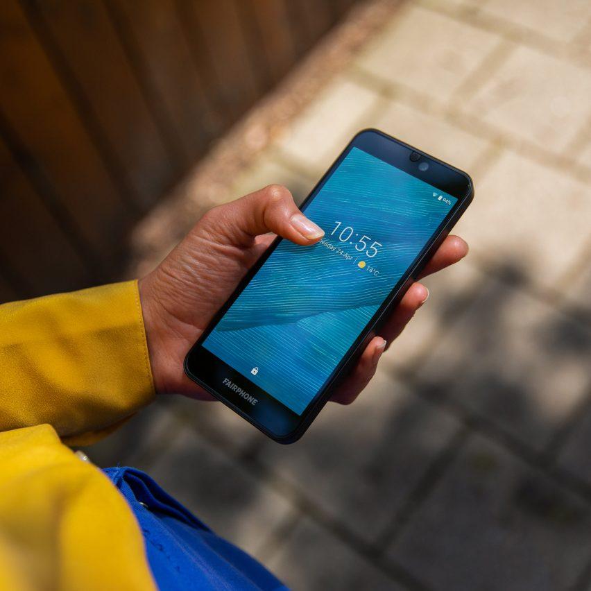Fairphone 3 modular ethical smartphone by Fairphone