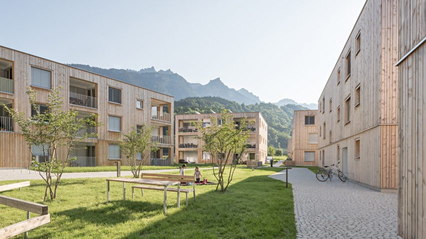 Maierhof housing estate by Feld72
