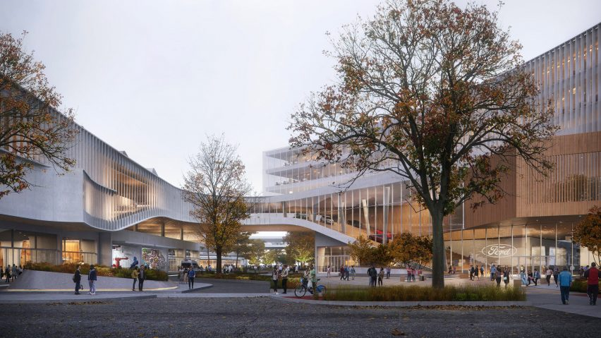 Ford Research and Engineering Center by Snohetta