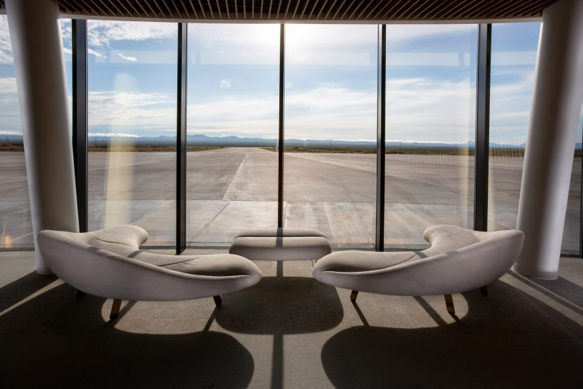 Gateway to Space interiors by Viewport Studio