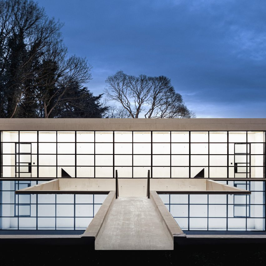 """BPN Architects designs Ghost House to have """"ethereal presence"""""""