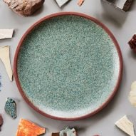 Granby Workshop recycles waste sludge from clay industries to make earthen tableware