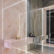 Ariostea designs tile collection inspired by iridescent onyx stones