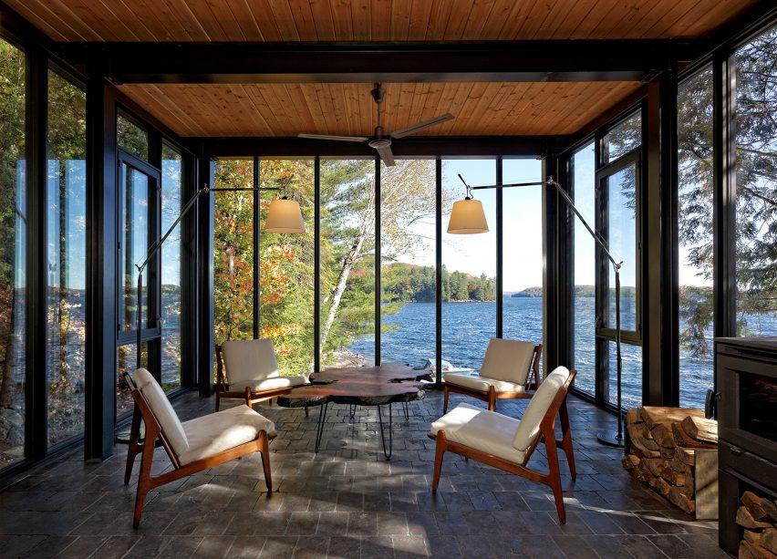 Kawagama Boathouse by Building Arts Architects