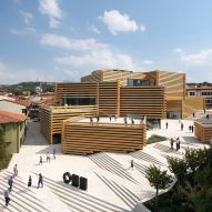 Kengo Kuma's stacked-timber Odunpazari Modern Museum opens in Turkey