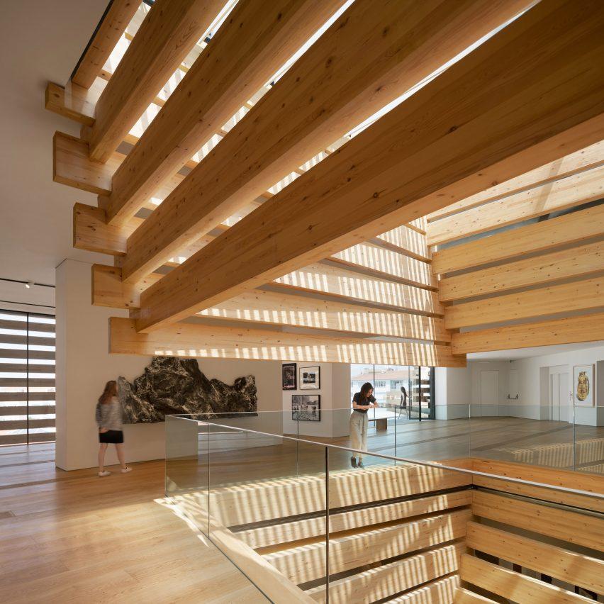 Odunpazari Modern Museum by Kengo Kuma & Associates