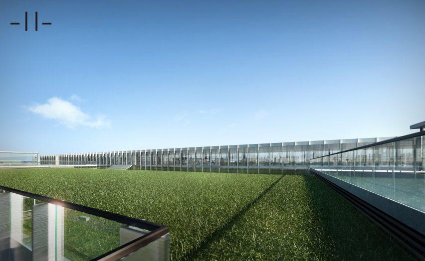 Knowledge Innovation Centre by MDDM for Oscar Niemeyer's Rashid Karame International Fair expo site in Lebanon