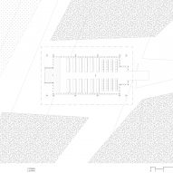 Floor plan of Kooroomba Chapel by Wilson Architects