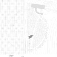 Site plan of Kooroomba Chapel by Wilson Architects