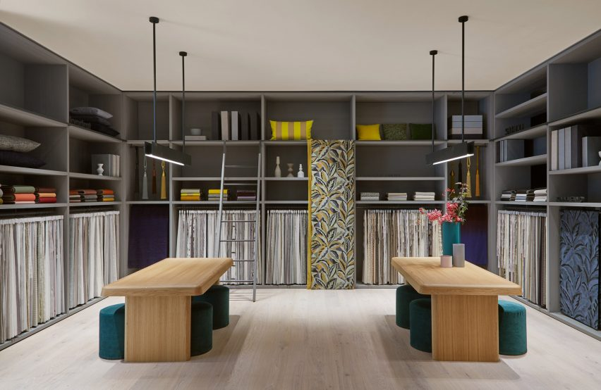 Kvadrat at Home showroom, designed by Vincent Van Duysen