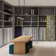 "Vincent Van Duysen creates ""library of fabrics"" inside Kvadrat At Home"