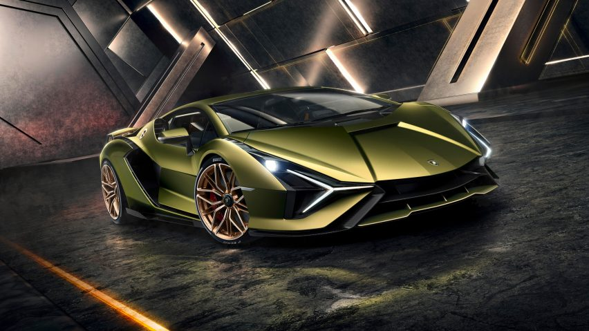Lamborghini reveals its first hybrid production supercar