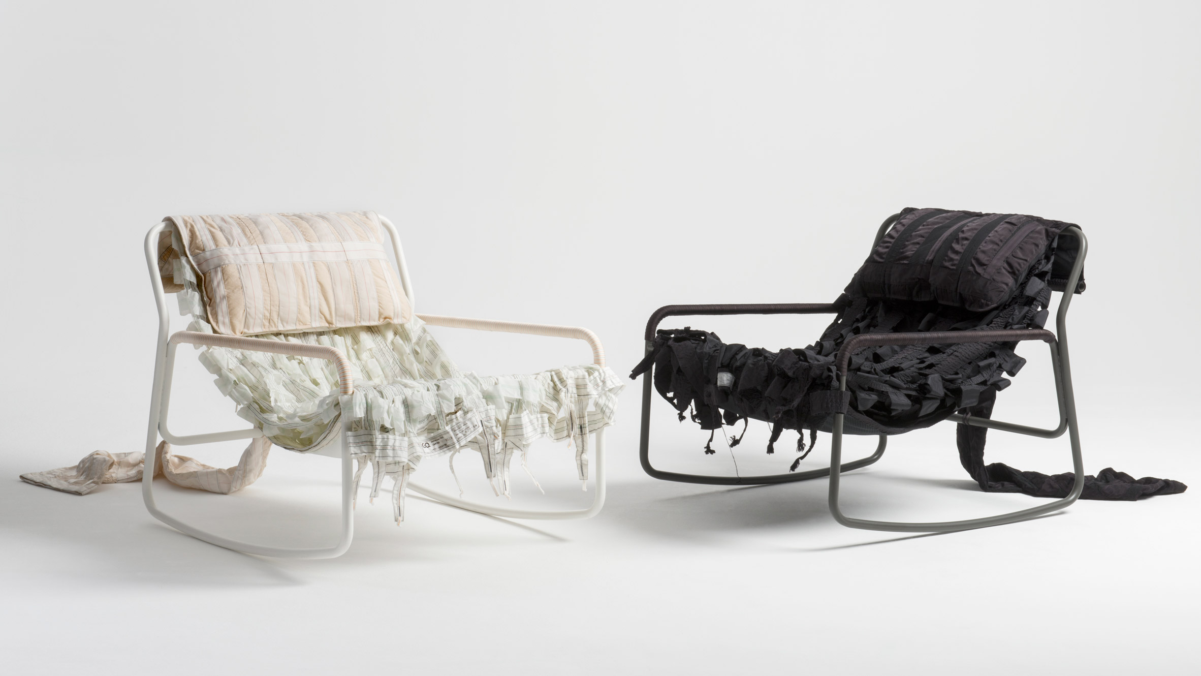 Layer And Raeburn Design Furniture Collection From Recycled