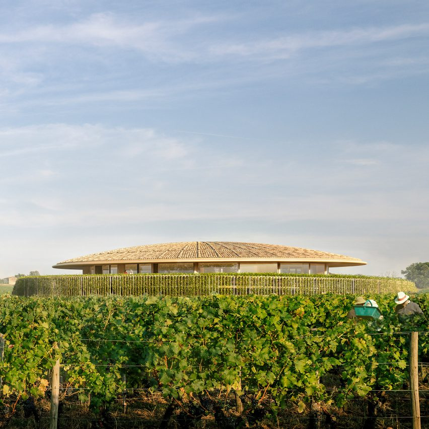 Foster + Partners unveils design for domed winery in France