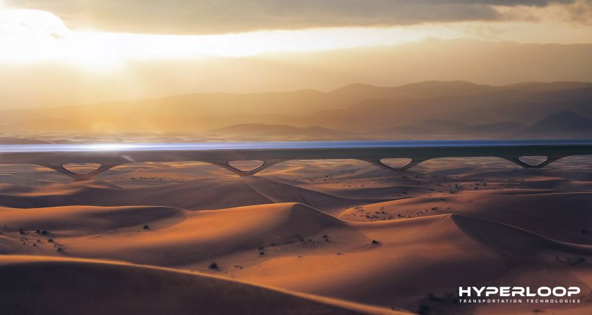 Architecture studio MAD designs solar-powered hyperloop