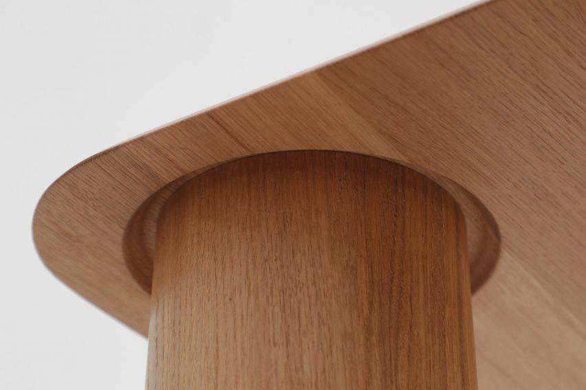 Big Foot tables by Maria Bruun