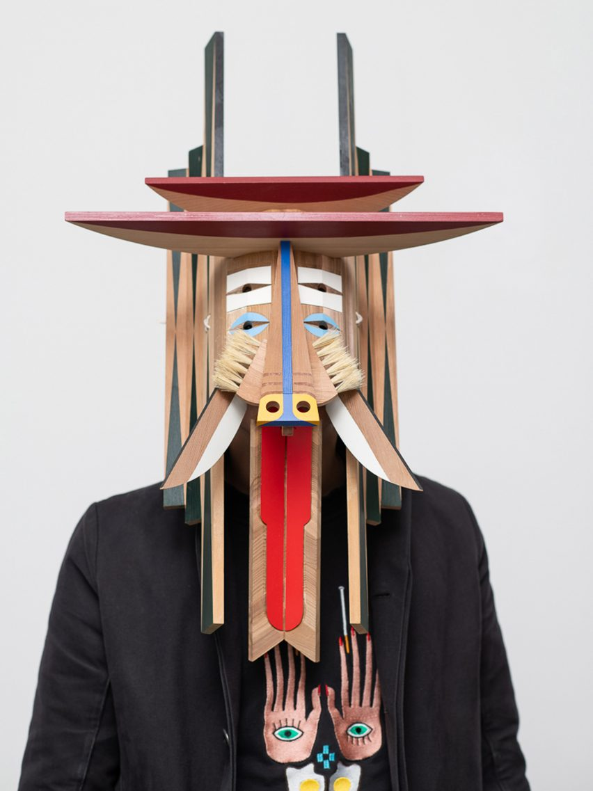 Masters of Disguise masks: Rio Kobayashi