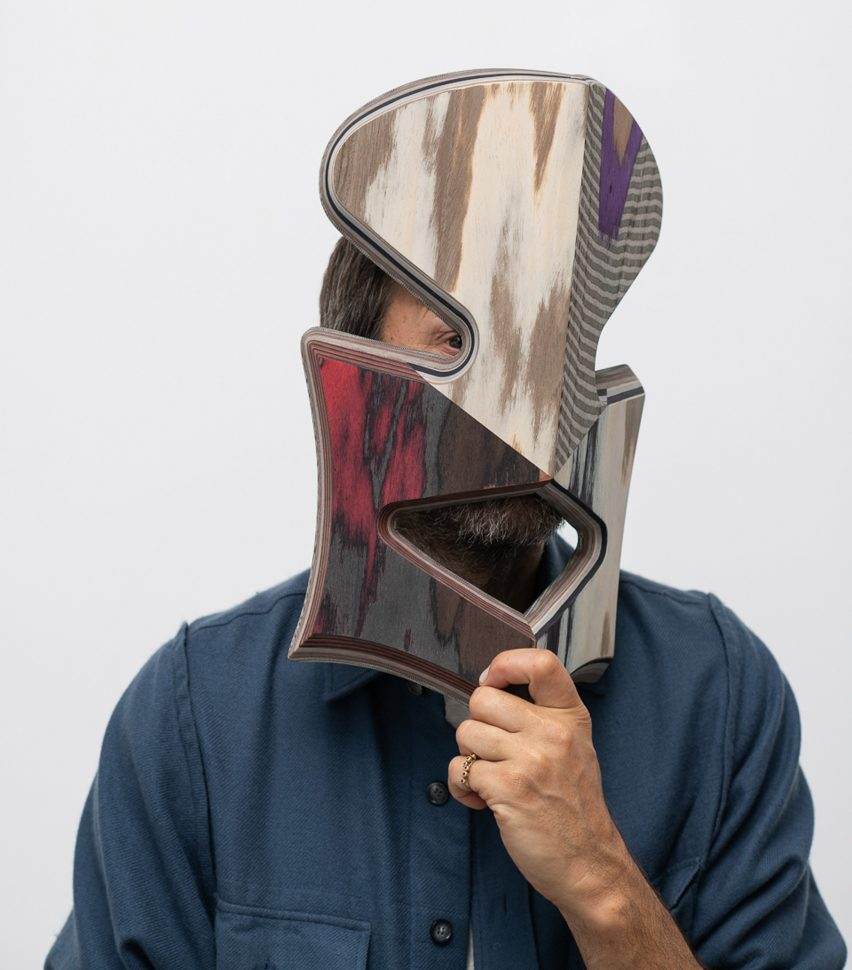 Masters of Disguise masks: Martino Gamper