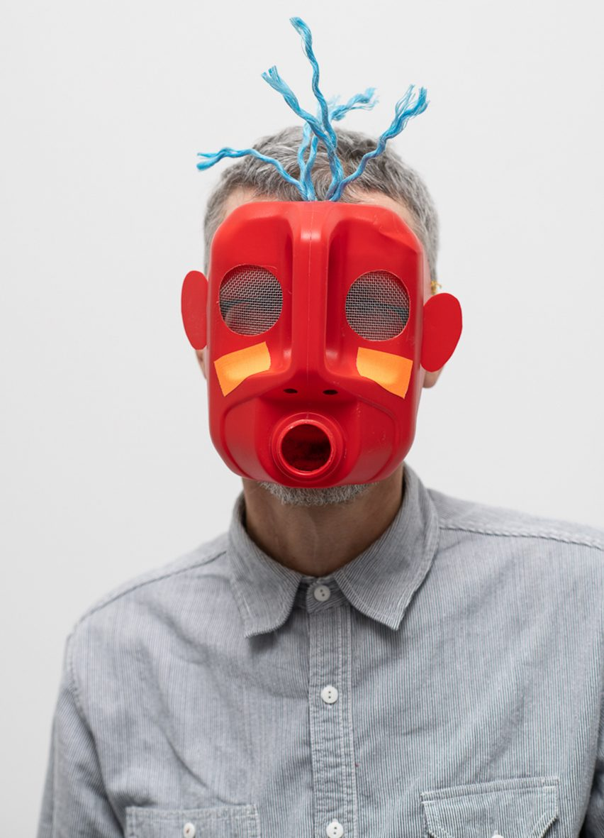Masters of Disguise masks: Michael Marriott
