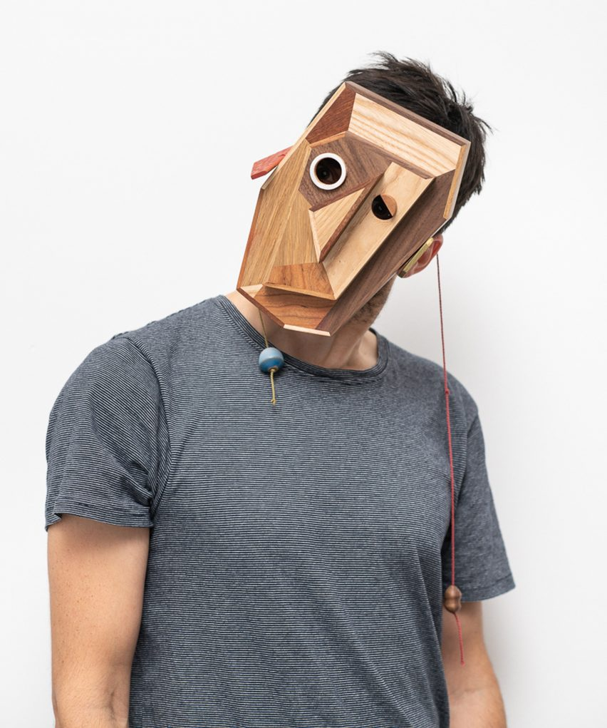 Masters of Disguise masks: Tiago Almeida