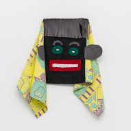 Masters of Disguise masks: Nathalie Du Pasquier