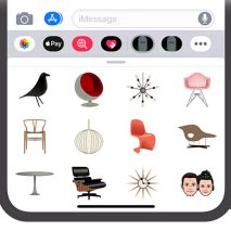 Midcentury Emojis by Death by Modernism