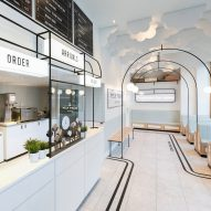 Seven ice cream shops sprinkled with delicious decor details