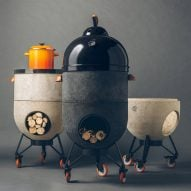 "Noori stove ""breaks the limitations of a standard barbecue"""