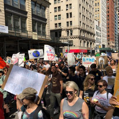 New York City climate strike September 2019