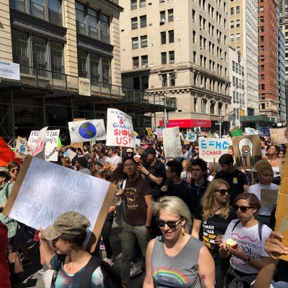 New York City climate strike September 2019