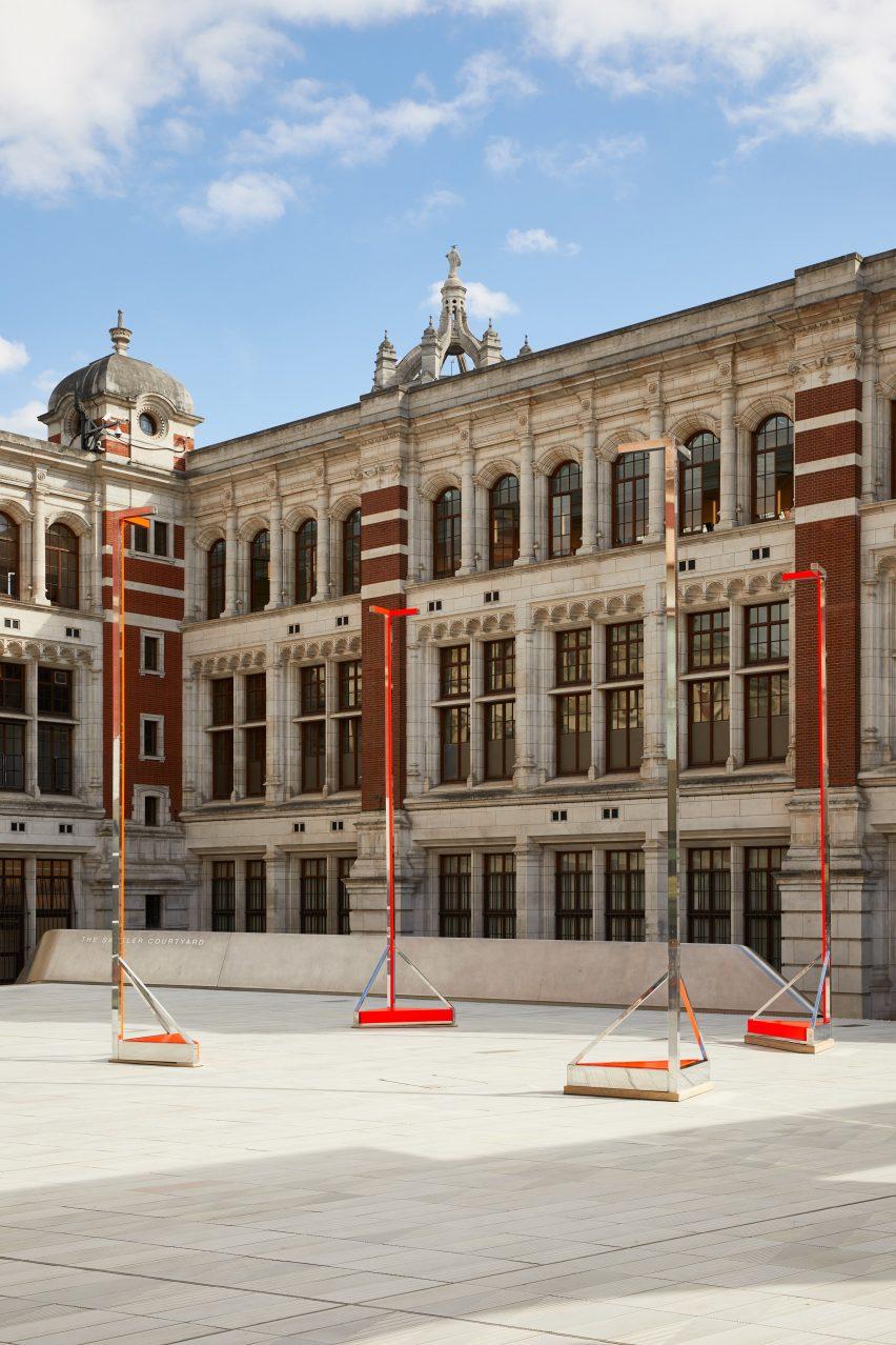 Non-Pavilion at V&A for London Design Festival