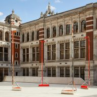 V&A promotes degrowth with a pavilion that's nothing but empty space