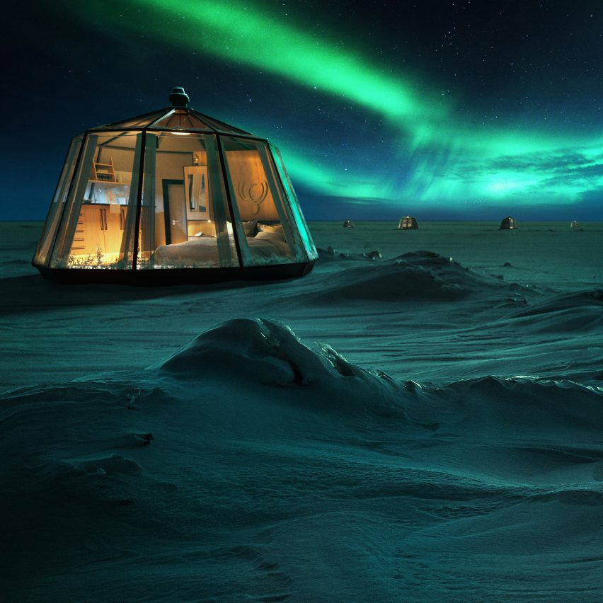 Dezeen's top 10 architecture trends 2019: North Pole Igloos hotel by Luxury Action