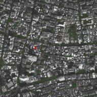 Site plan of Origin Villa Hotel Far&Near by Kooo Architects