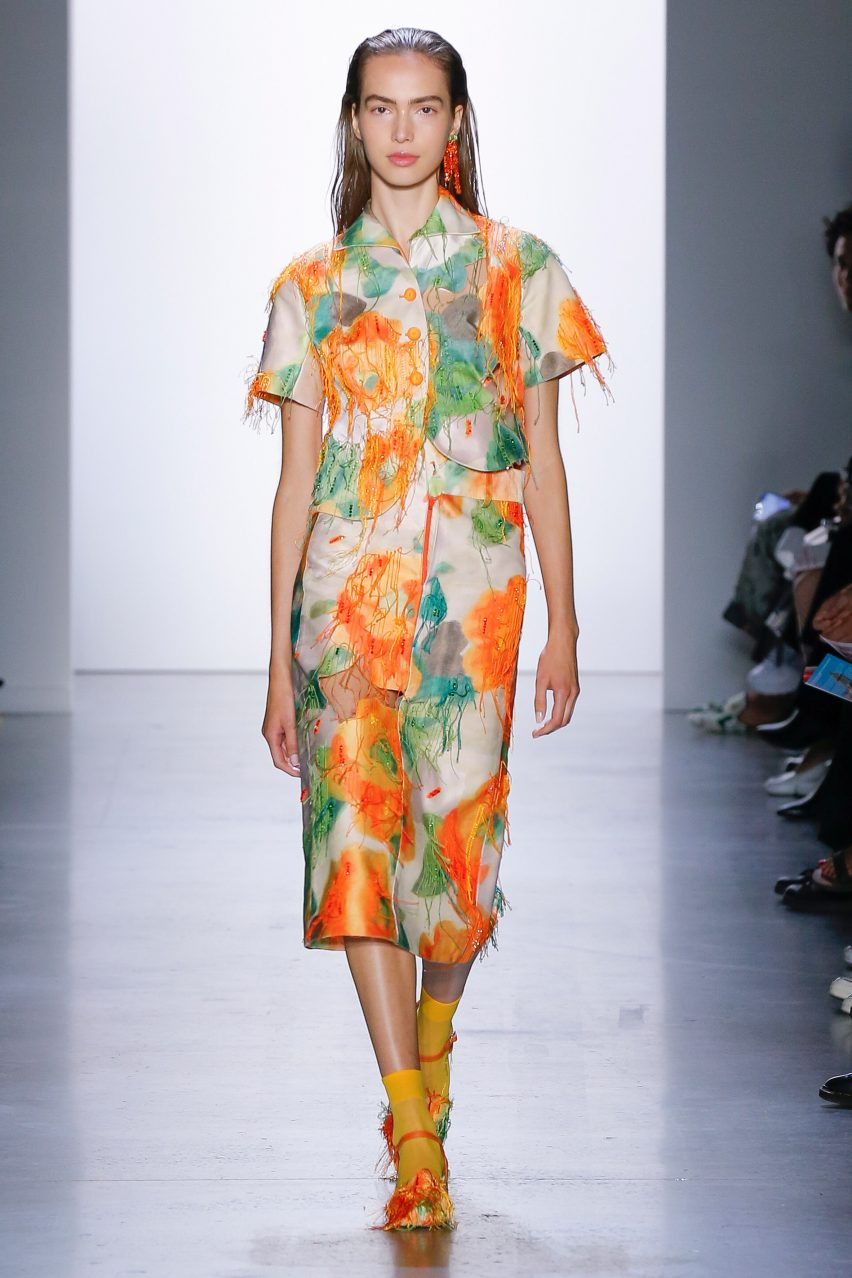 Eight Eye Catching Designs From Parsons 2019 Graduate Fashion Show