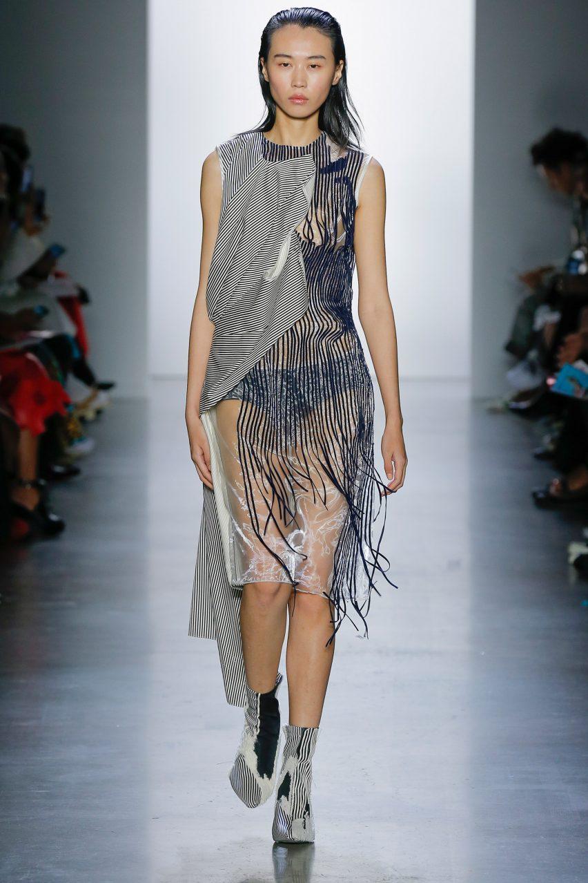 Parsons School of Design student fashion show 2019 New York City