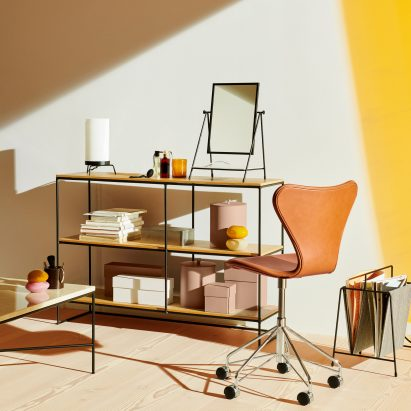 Planner Shelving by Paul McCobb and Fritz Hansen