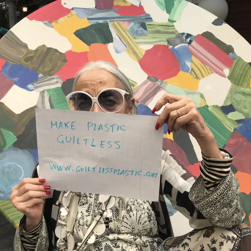 Rossana Orlandi will be in conversation with Marcus Fairs about the future of plastics at Istituto Marangoni London