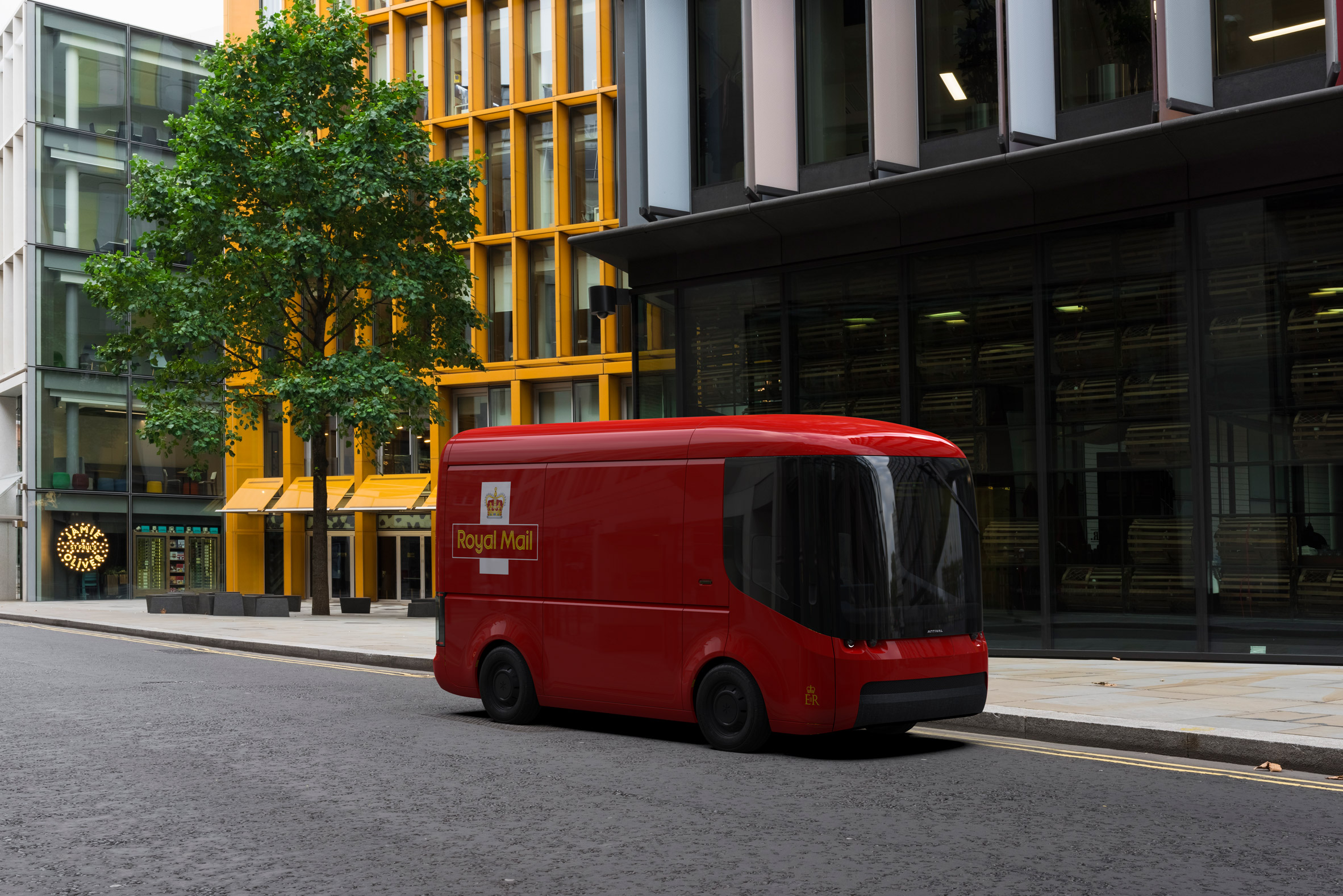 Royal Mail vans by Arrival