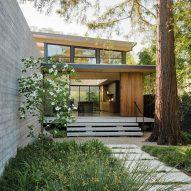 Feldman Architecture integrates The Sanctuary house into lush Silicon Valley site