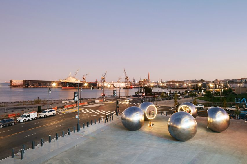 Seeing Spheres by Olafur Eliasson