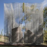 Simbiosi by Edoardo Tresoldi in Arte Sella
