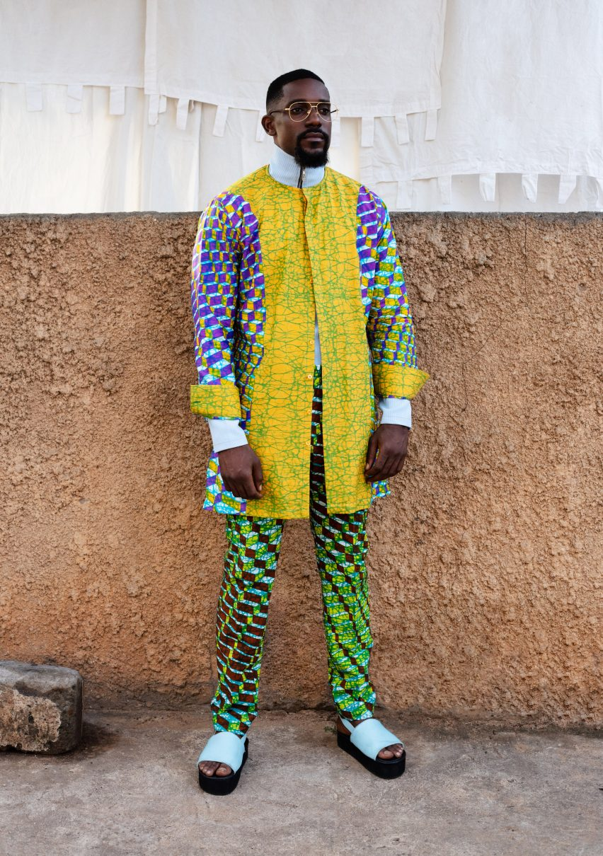 Bubble Block Wax by Simone Post and Atto Tetteh for Vlisco