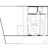Skylight House by Rodolfo Cañas First Floor Plan
