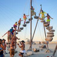 Stone 27 installation at Burning Man 2019 by Benjamin Langholz