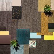 "Modular Tessera Nexus carpet tiles designed for ""less corporate"" workplaces"