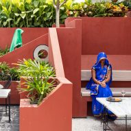 Portal 92 designs Village Cafe to evoke feeling of an Indian village